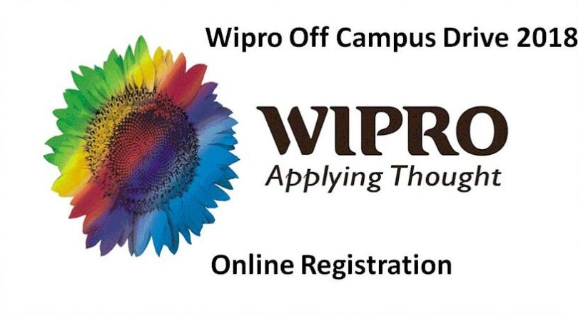 Wipro Off Campus 2018 Drive For Freshers